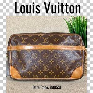 Louis Vuitton clutch bag compiegne 28 Monogram